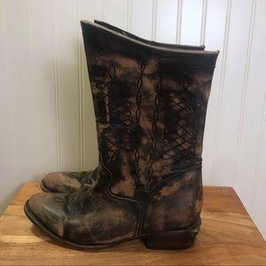 Freebird By Steven Rustl Boot Distressed Size 10